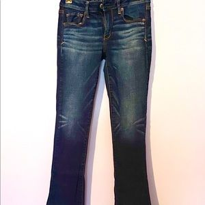 American Eagle Dark Wash Super Stretch Jeans